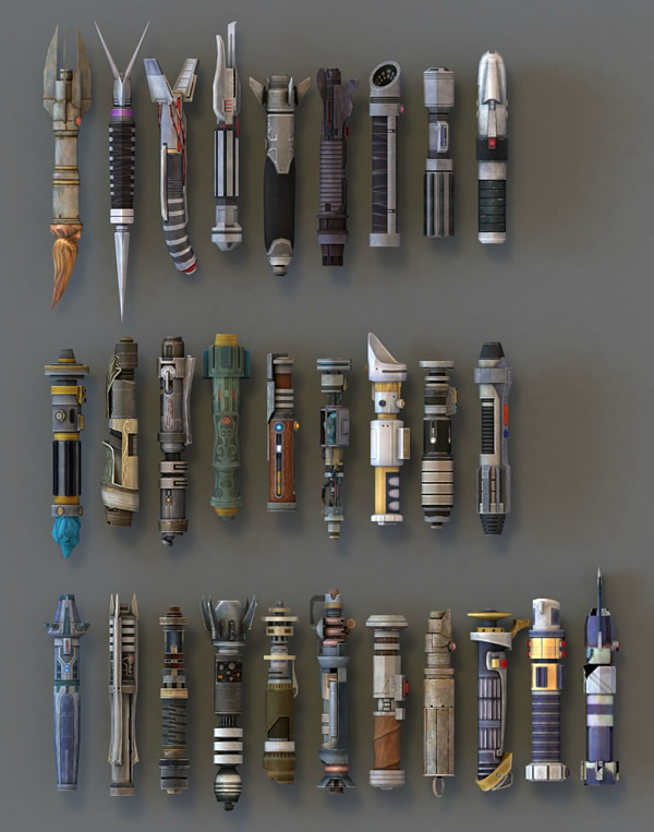 Lightsabers, Can I have all of these?  please?