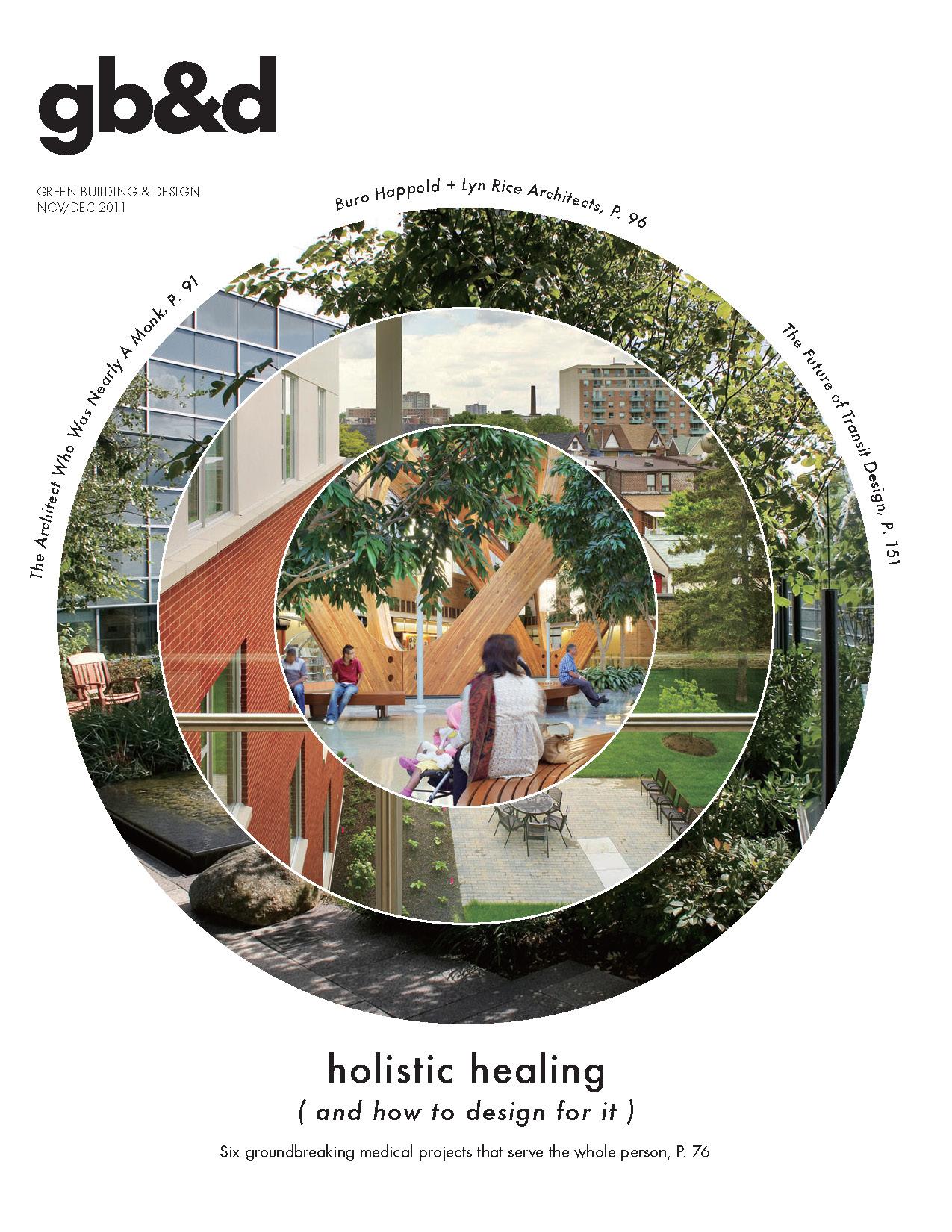 Green Building & Design magazine, December 2011