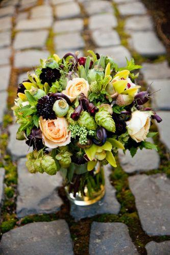Hops in a bouquet