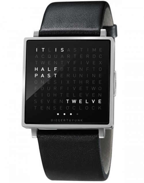 QLOCKTWO W Watch $650 – My dream birthday gift.