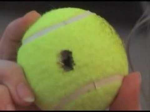 Unlocking a car with a tennis ball… I'll be so happy I repinned this one d