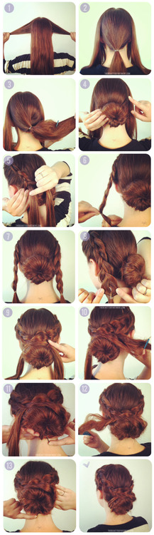 this is actually one I think I an manage!    As we have been seeing, braids are