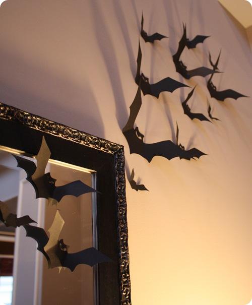 Halloween decorations – cut-out bats