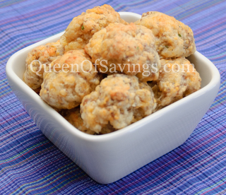 Sausage Cheese Balls {FEATURED}