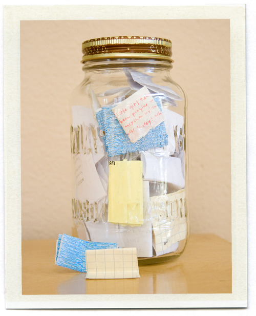 A Memory Jar – I'm starting this TODAY! All of those wonderful things the ki