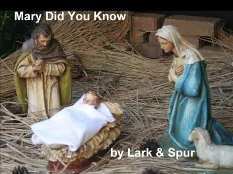 Mary Did You Know    Christian Christmas songs contemporary gospel church songs