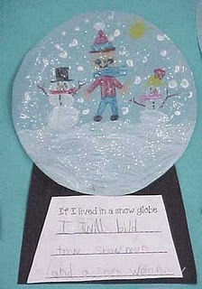 Snowman Theme Craft