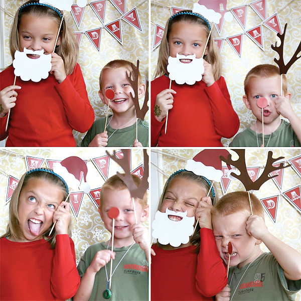 holiday photo booth ideas