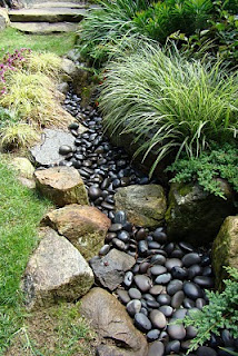 Dry river bed….love this in the garden