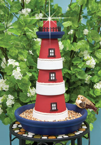 Terra cotta lighthouse… 🐰