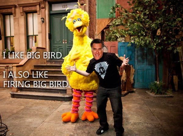 I've got Big Birds back.