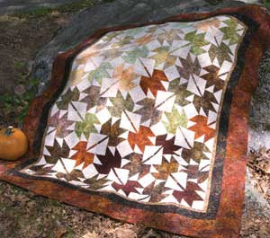 Fall Leaves Fall Quilt