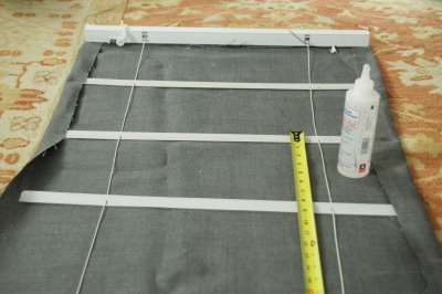 how to make roman shades out of cheap mini blinds and fabric of your choice…