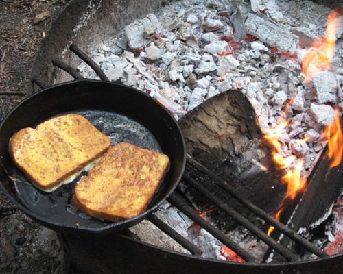 gourmet camping recipes