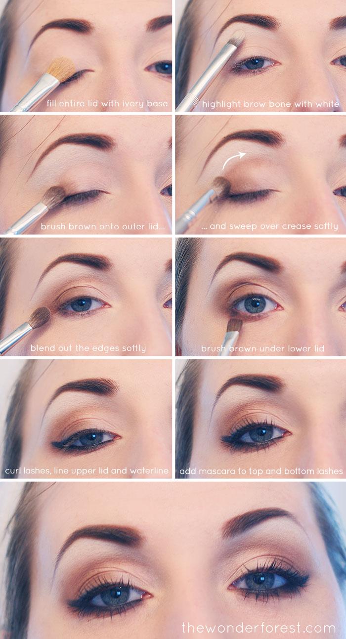 Как подчеркнуть голубые глаза?