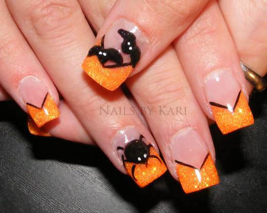 halloween nail art pictures