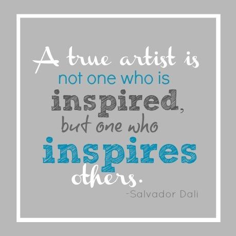 A True Artist Quote