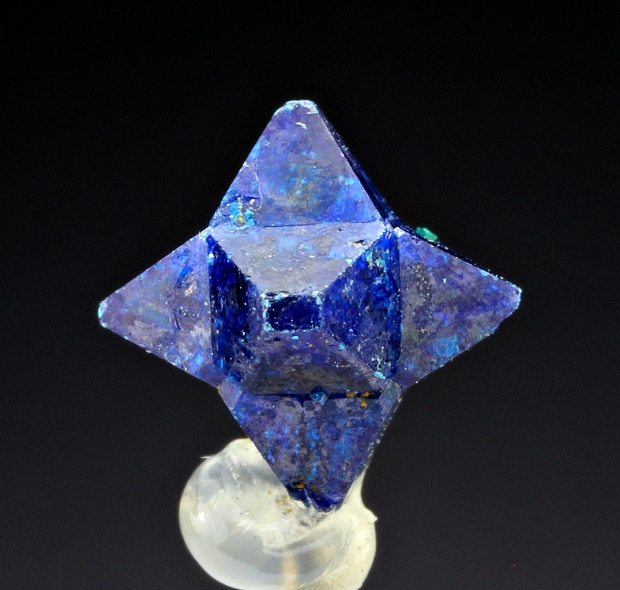 It's not everyday you see a crystal shaped like this! Cumengite from Mexic