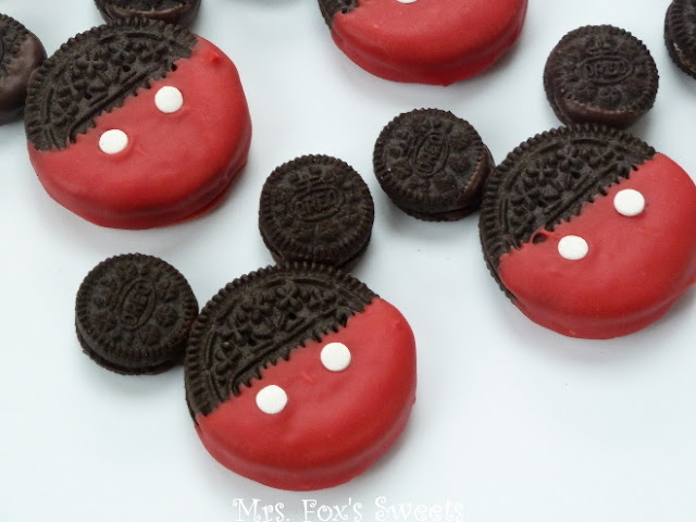 Disney Mickey Mouse baby shower dessert ideas