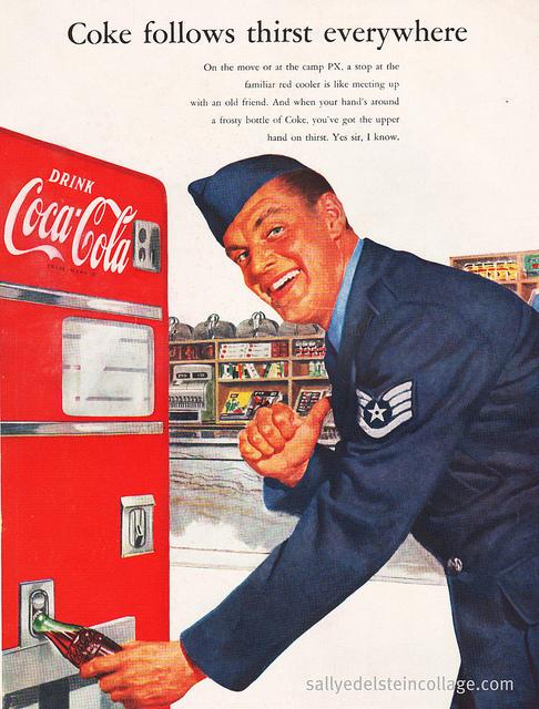 Coca Cola Ad-Korean War 1952
