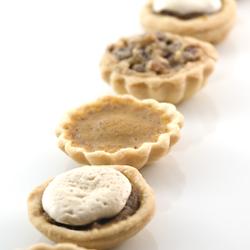 craving thanksgiving food….Thanksgiving Pie Petit Fours