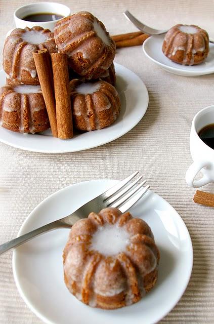 Mini Gingerbread Bundts