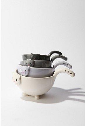 Cat Measuring Cup Set