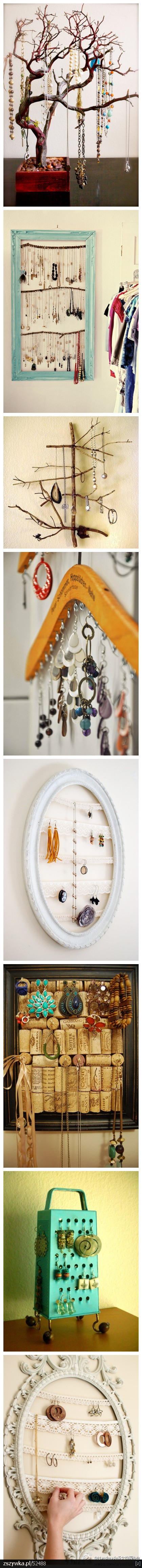 Jewelry hangers. Love these! (sorry for taking up your feed)