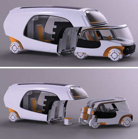 motorhome car camper hybrid  YES, Please!