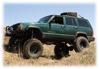 Jeep Cherokee Lifted