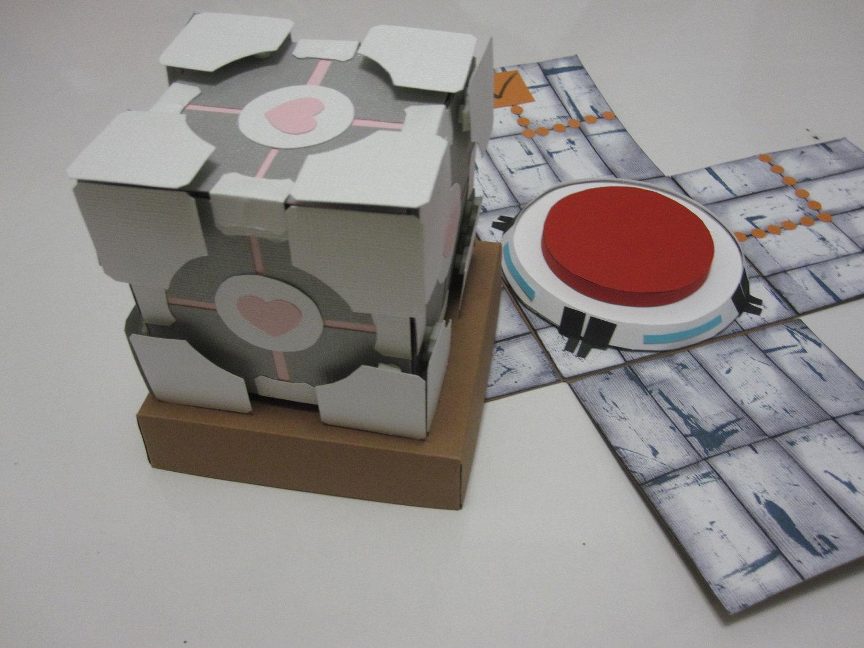 Portal Game Explosion Gift Box. $25.00, via Etsy.