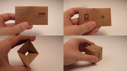 TAM Cargo: Box Business card