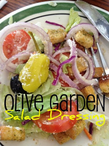 I love Olive Garden's salad dressing, I must try this – Olive Garden Copy Ca