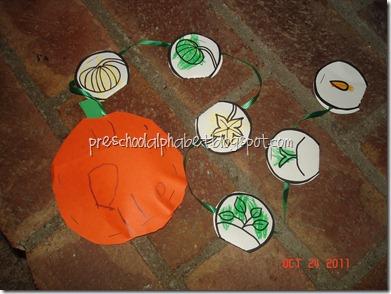 Pumpkin Theme Activities