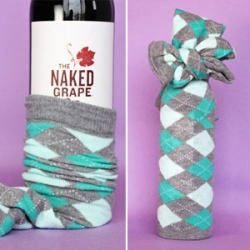 Christmas gifts – socks and wine Who doesn't like socks and wine?! Great, si