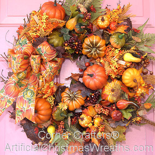 Pumpkins, Pumpkins, Pumpkins Wreath