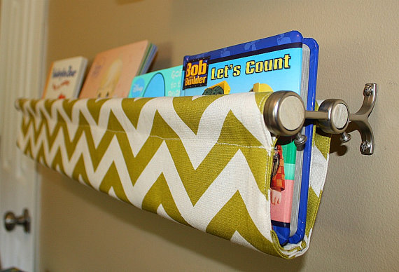 Such a clever idea! Some cute fabric and a double-poled curtain rod. cute idea f