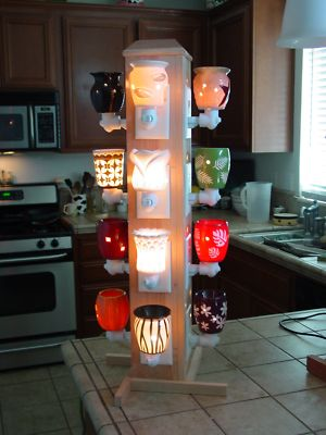Ideal Display for Scentsy products 12 outlets. I need someone to make this for m