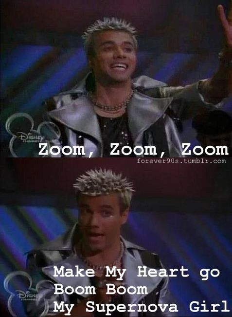 My ten year old self thought Protozoa was the sexiest man on earth.