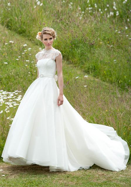 Wedding dress – Daphne long wedding dress