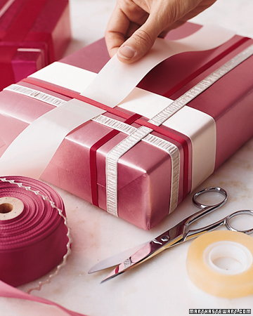 The Art of Present Wrapping .  Tons of cute ideas…