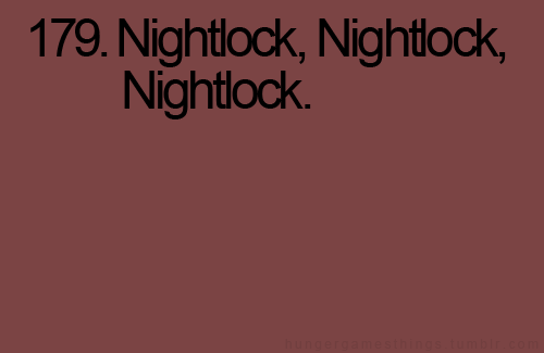 The Hunger Games – Nightlock