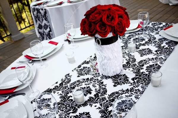 Black, White  Red Wedding