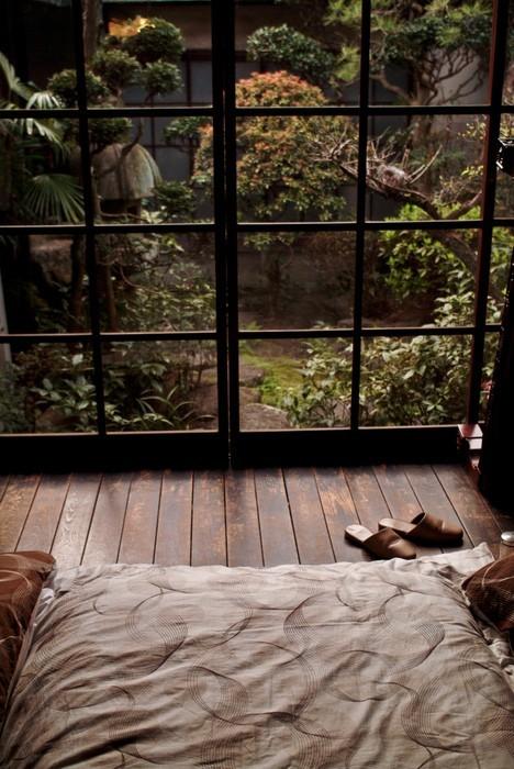 Beautiful bedroom garden