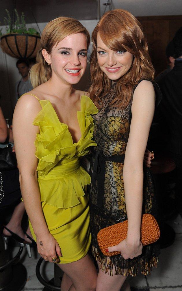 Emma Watson & Emma Stone