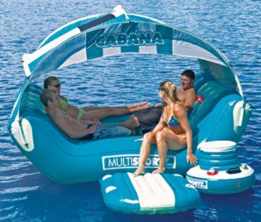 SportsStuff® Cabana Islander Inflatable Water Lounger | Bass Pro Shops