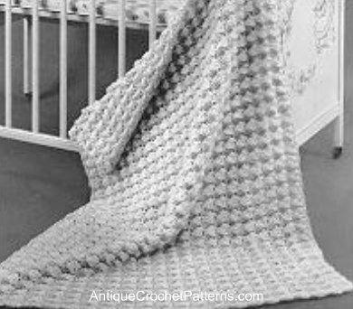 Crochet Baby Blanket Pattern – Easy Crochet Baby Blanket