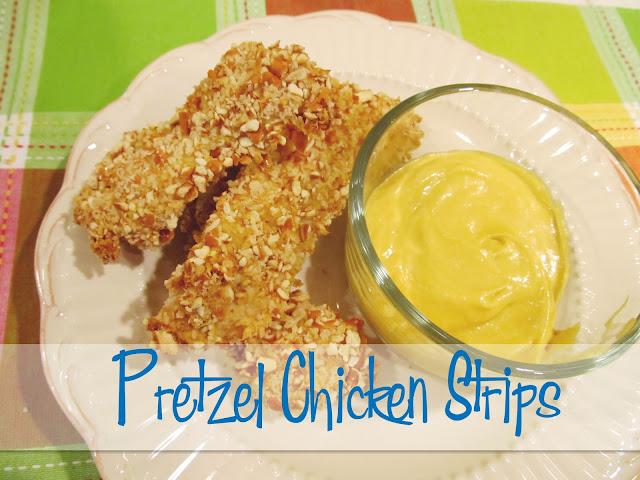 Pretzel Chicken Strips