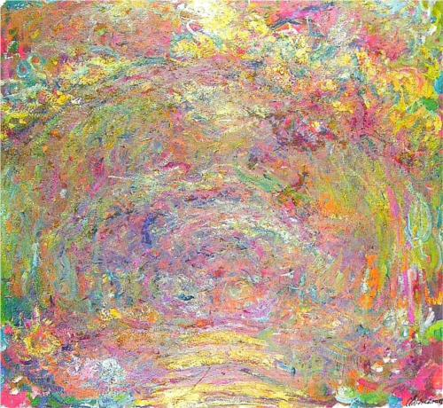 Path under the Rose Trellises – Claude Monet