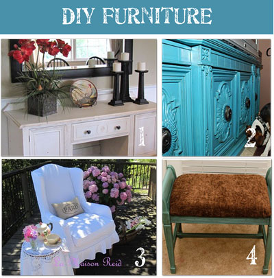 Fun Second-hand Furniture Makeovers